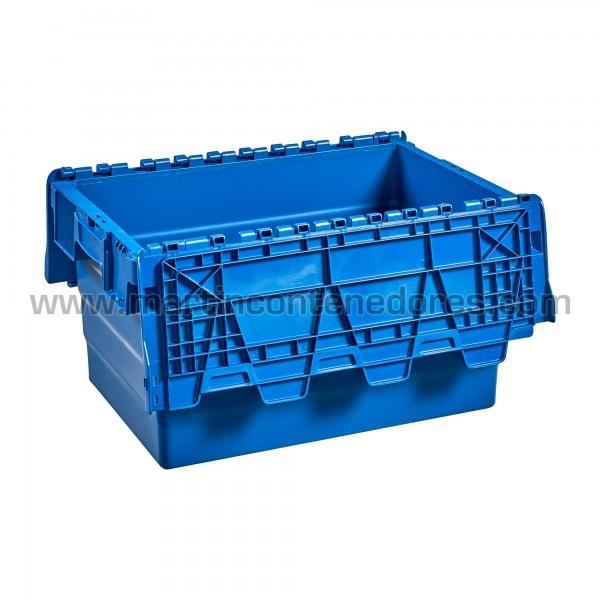 Bac de rangement plastique longueur intérieure 495 mm