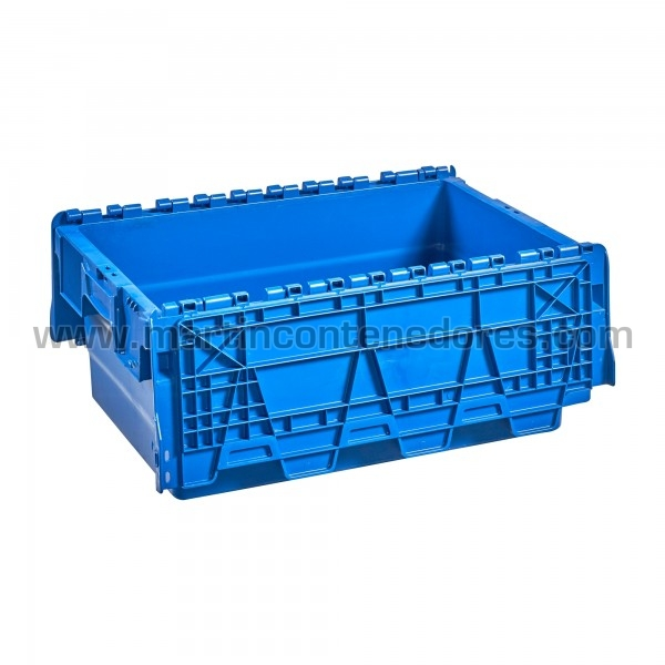 Caixa plástica encaixável estanque