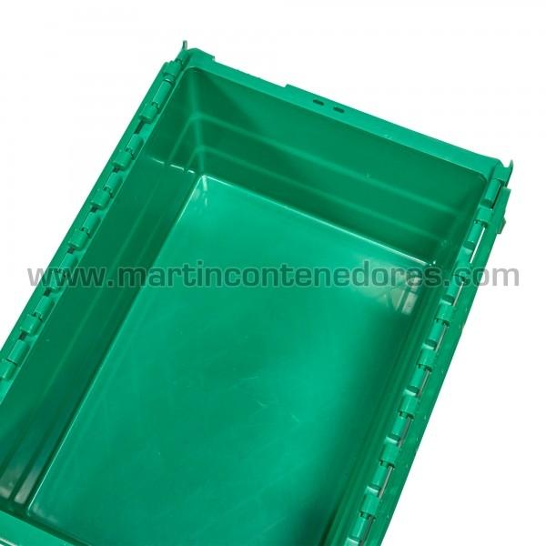 Caja plastica 600x400x250mm nueva apilable