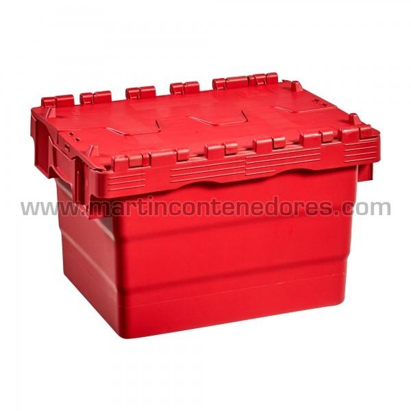 Caja plastica fabricado en polipropileno