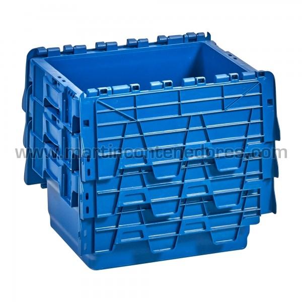 Cajas plasticas nueva color azul
