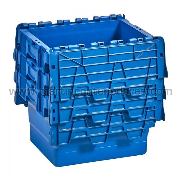 Bac de rangement plastique emboitable