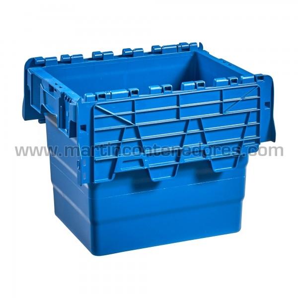 Caja plastica nueva color azul