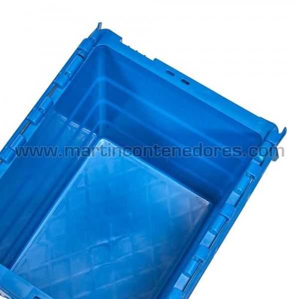 Caja plastica con porta etiquetas y estanco nueva