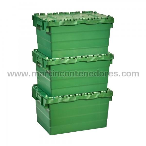 Bac de rangement plastique emboitable empilable