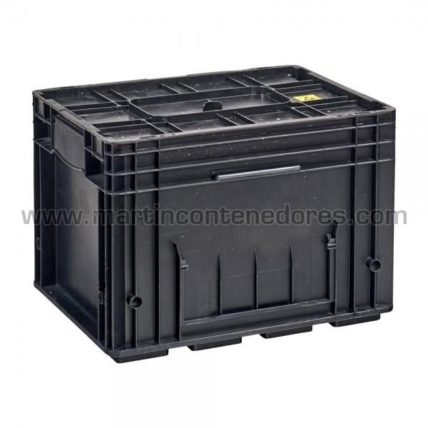 Cajas R-KLT-ESD con base reforzada ocasión apliable