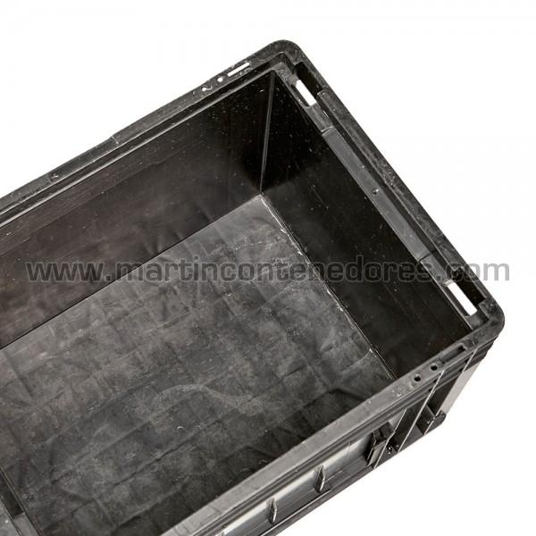 Caja plastica 400x300x280 usado