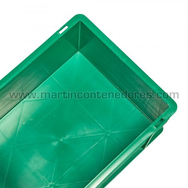 Caisse plastique euronorm hauteur utile 166 mm