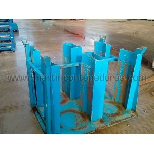 Stacking box steel fixed...
