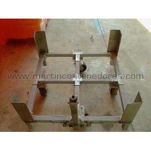 Carro metálico 840x835x210 mm