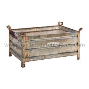 Steel box 1200x800x560/460 mm