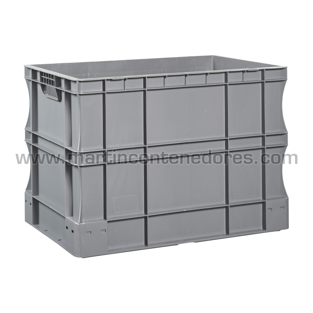 Caja plástica Euro-norma nueva fabricado en plastico