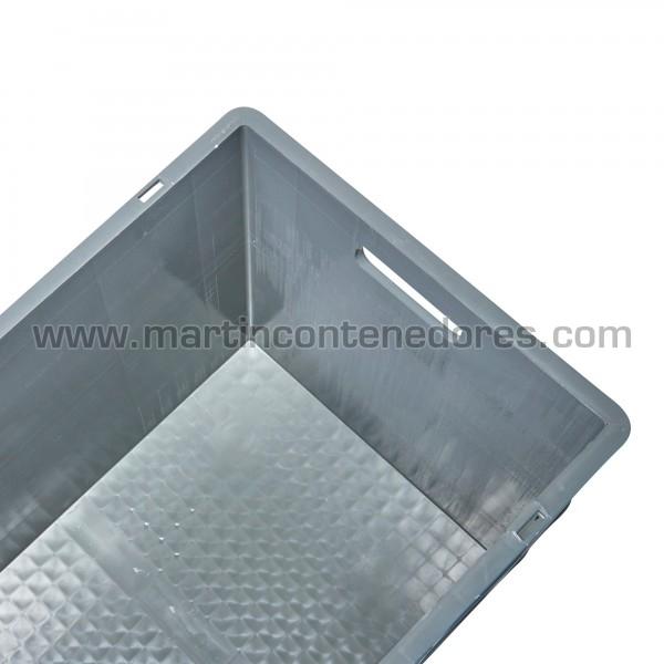 Caja plástica con asa pasante nuevo