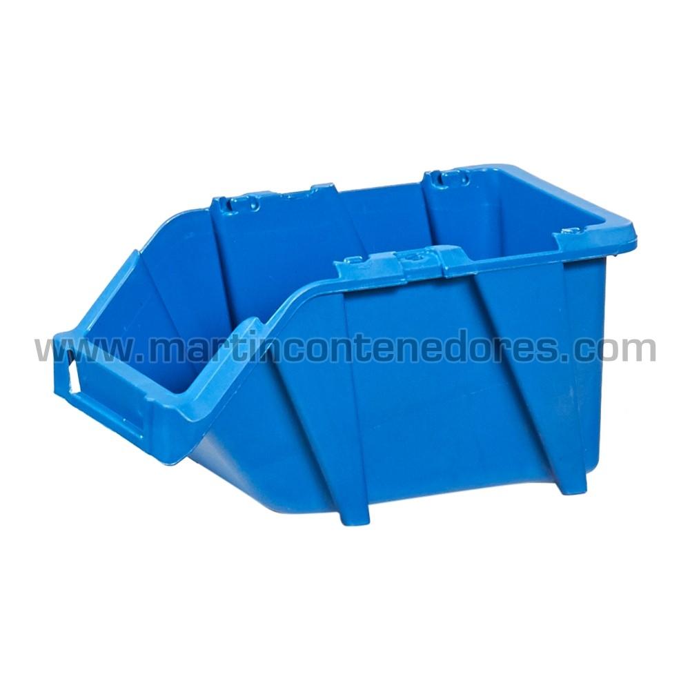 Gaveta plástica visualizadora  color azul descatalogados