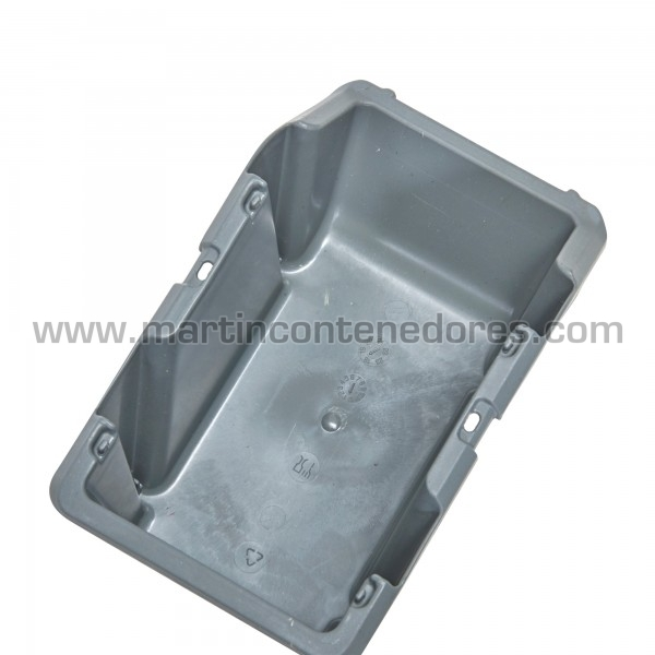 Bac à bec plastique hauteur utile 75 mm