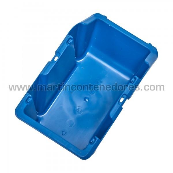 Gaveta plástica visualizadora 195x125x90 mm