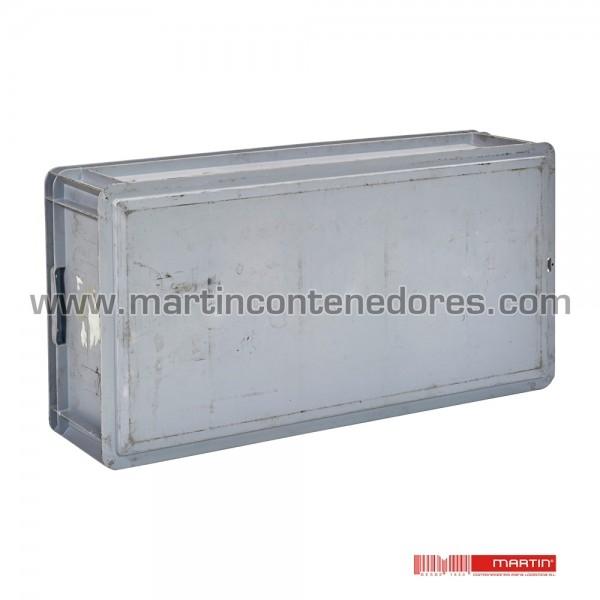 Bac plastique hauteur utile 195 mm