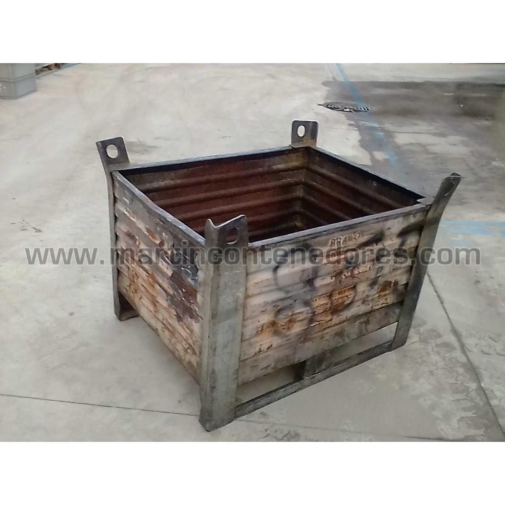 Conteneur tôlé occasion poids à vide 55 kg