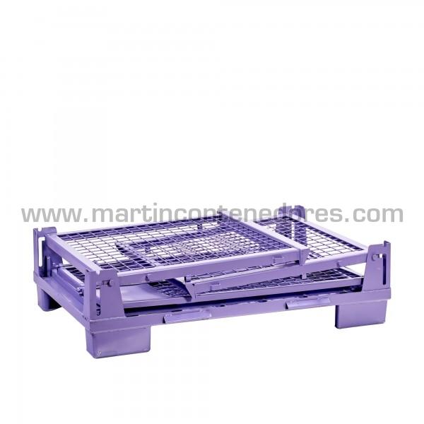 Conteneur pliable hauteur plié 320 mm