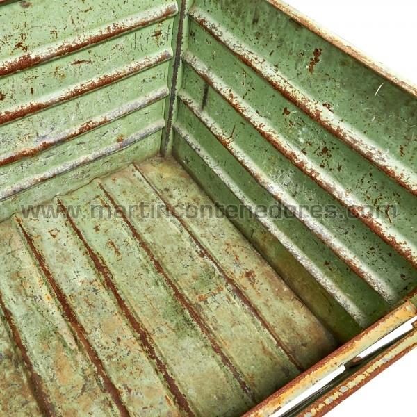 Contenedores Metálicos color verde