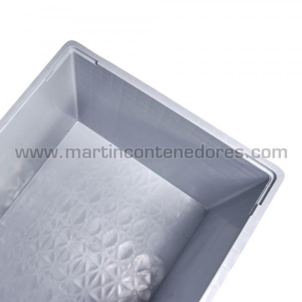Contentor plástico fabricado em polipropileno virgem