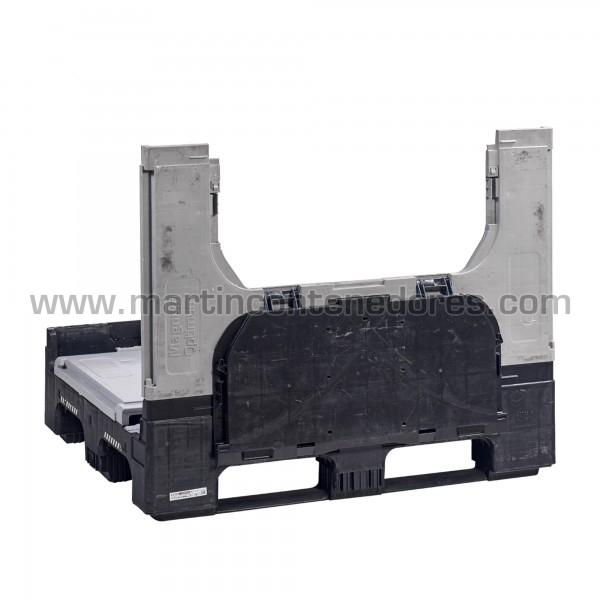 Contenedores Plástico usado 1200x1000x975/800 mm