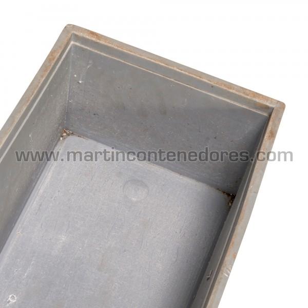 Bac plastique hauteur utile 210 mm