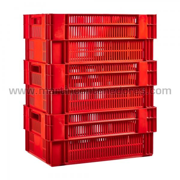 Caja plástica fabricado en hdpe virgen