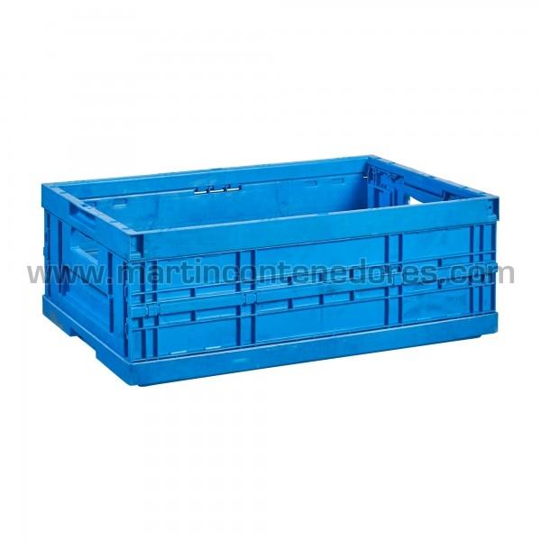 Caisse plastique pliable empilable d'occasion