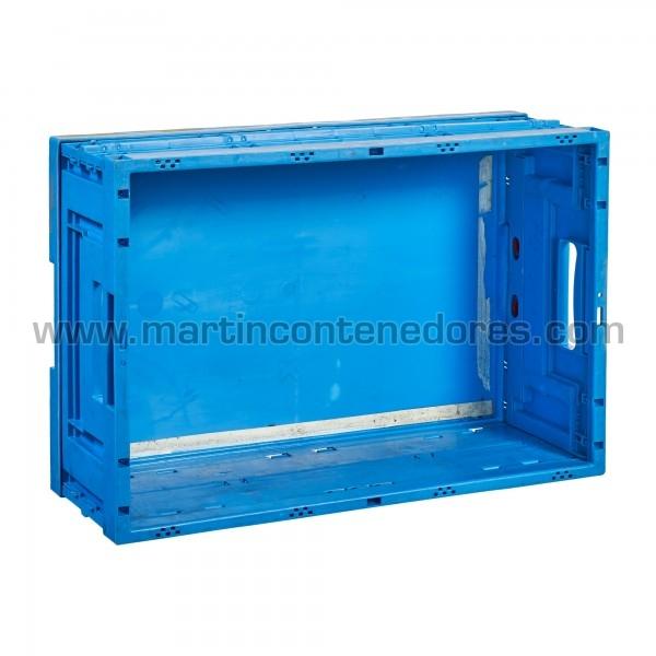 Caisse plastique pliable hauteur 220 mm