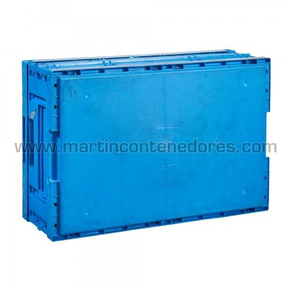 Caisse plastique pliable longueur 600 mm