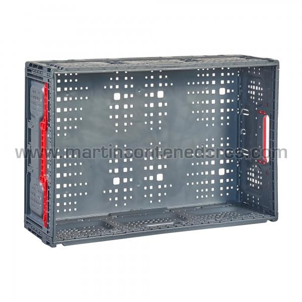Caja plástica ventilada