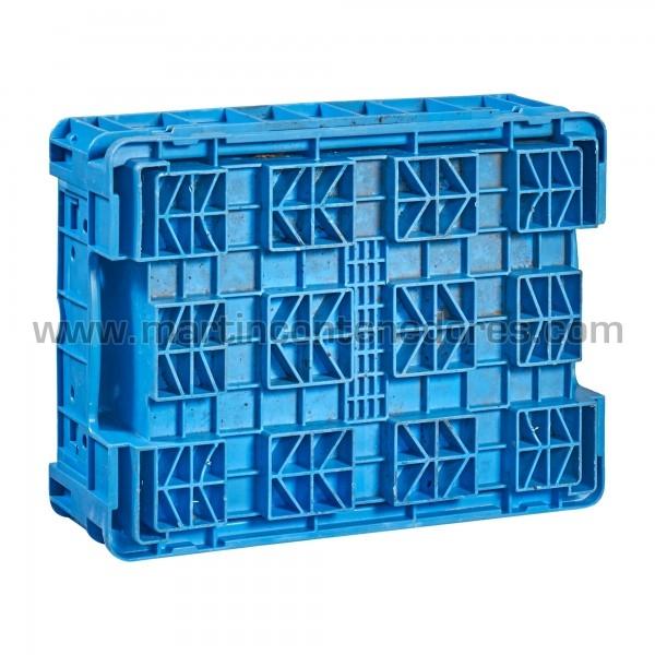 Caja plástica klt con base reforzada