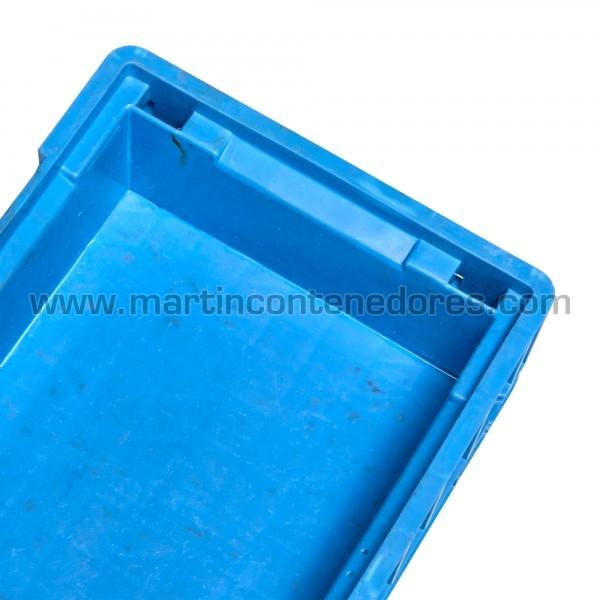 Caja plástica klt apilable