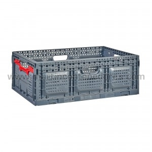 Foldable perforated box...
