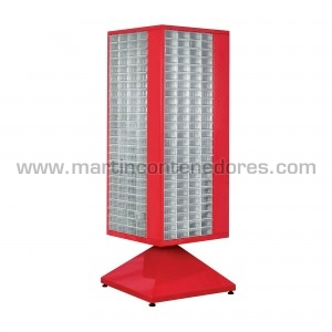 Rotating cabinet with 400...