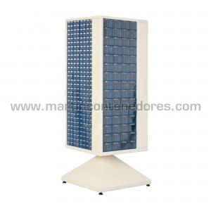 Rotating cabinet with 600...