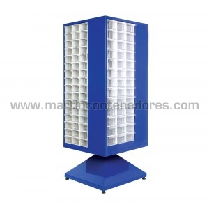 Rotating cabinet with 267...