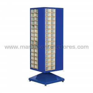 Rotating cabinet with 120...
