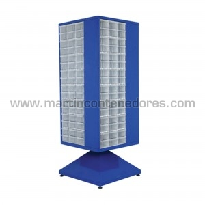 Rotating cabinet with 192...