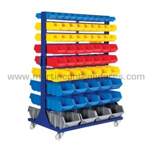 Mobile storage rack incl....