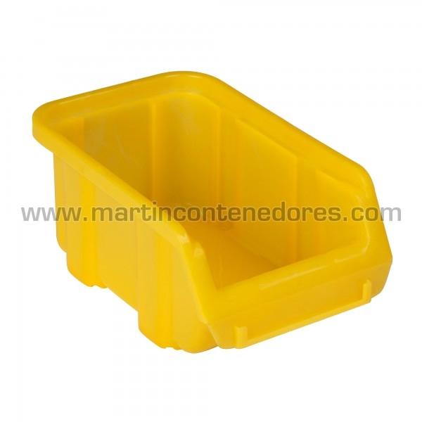 Bacs à bec hauteur 72 mm jaune