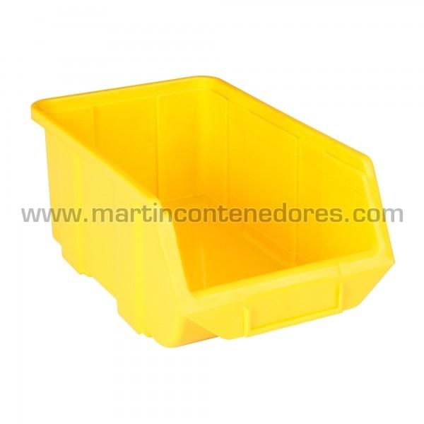 Bacs à bec hauteur 129 mm jaune
