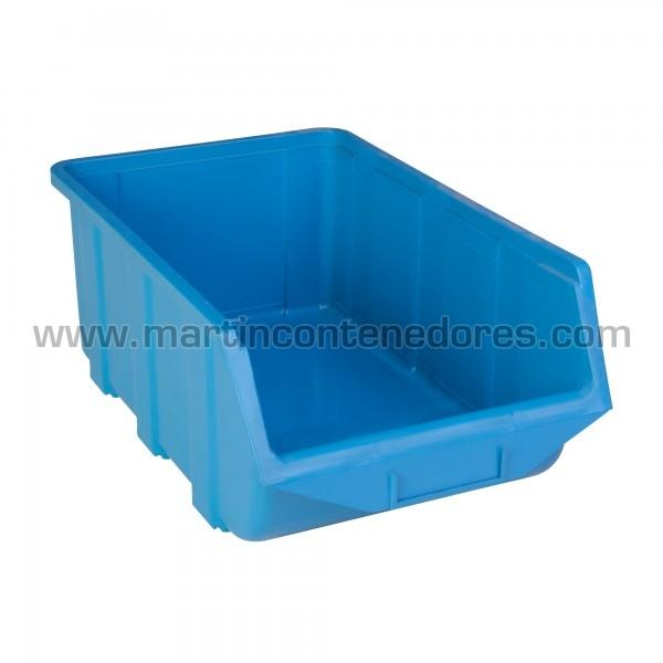 Bacs à bec hauteur 168 mm bleu
