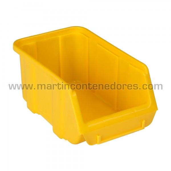 Bac à bec 204x128x96 mm jaune neuf