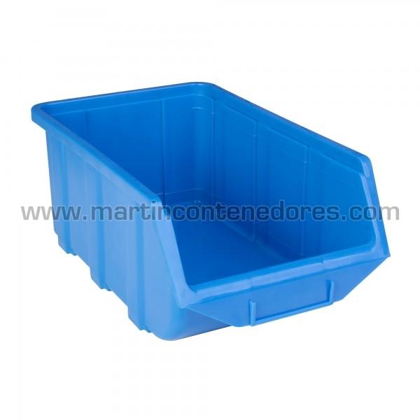 Bac à bec 368x219x148 mm bleu neuf