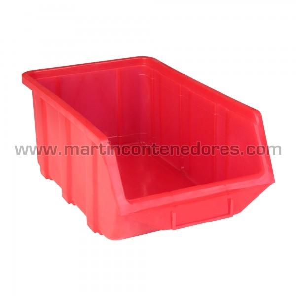 Bacs à bec longueur 368 mm rouge neuf