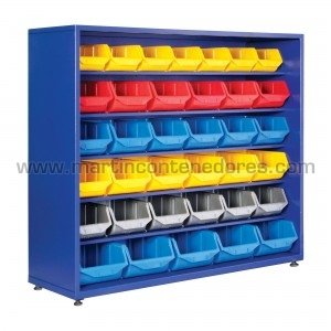 Stationary storage rack...