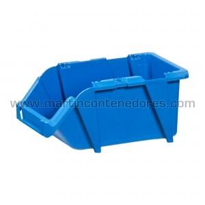 Gaveta plástica 243x160x121 mm