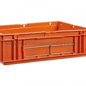 Porta-etiquetas para cajas galia odette 4312